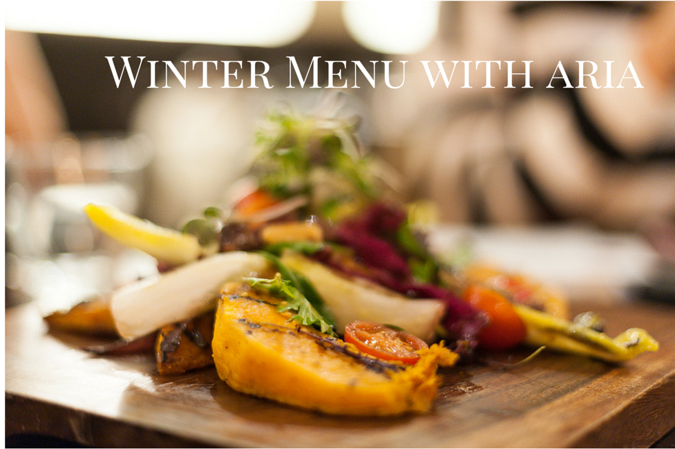Aria Winter Menu