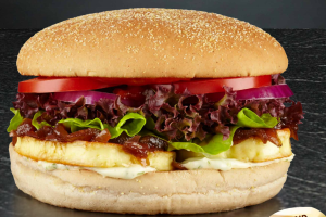 Halloumi Burger, Burger Wisconsin